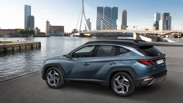 New Hyundai Tucson: dramatic redesign is most in evidence at the front