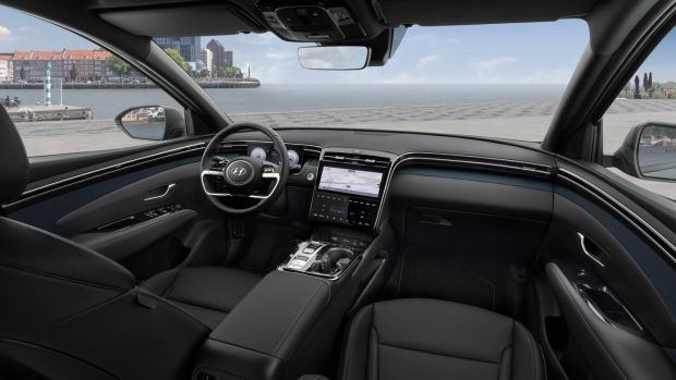 New Hyundai Tucson: big touchscreen also gets Hyundai's Bluelink connectivity system