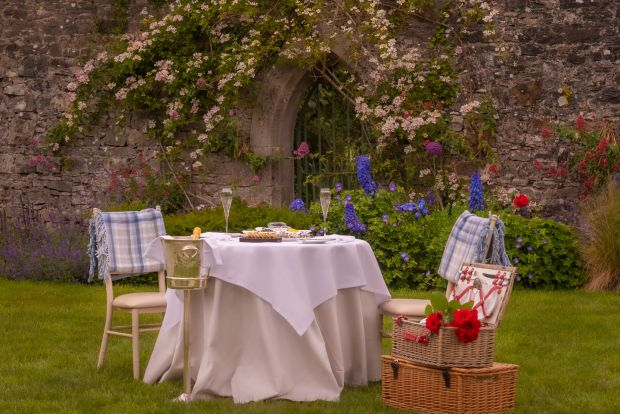 Adare Manor's luxury offering comes with a personal picnic butler