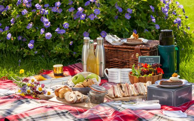 Ballynahinch Castle has a menu of different picnic options, open to non-residents as well as hotel guests.