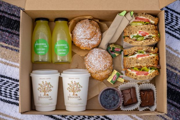 Phoenix Cafe in Dublin 8 has picnic boxes to go available to prebook and enjoy in the park.