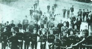 The hurlers  who toured the United States in 1888, in what became known in the GAA as the 'American Invasion'