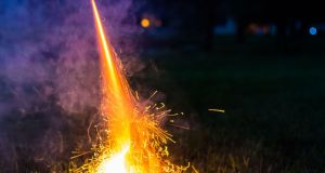 Older residents who are cocooning feel trapped by the endless racket of exploding bangers and rockets, Dáil told. Photograph: iStock