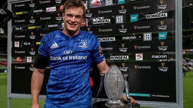 Leinster flanker Josh van der Flier tops the tackle charts and is joint leader in turnovers in this year's Champions Cup. Photograph: Dan Sheridan/Inpho