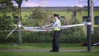 Gardaí investigate the discovery of a body in Dublin park