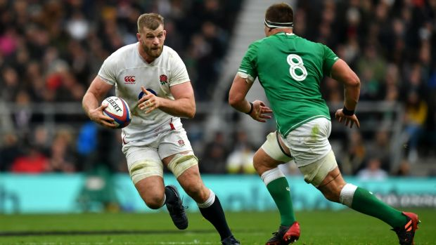 George Kruis is one of the big names to have left Saracens. Photograph: Dan Mullan/Getty