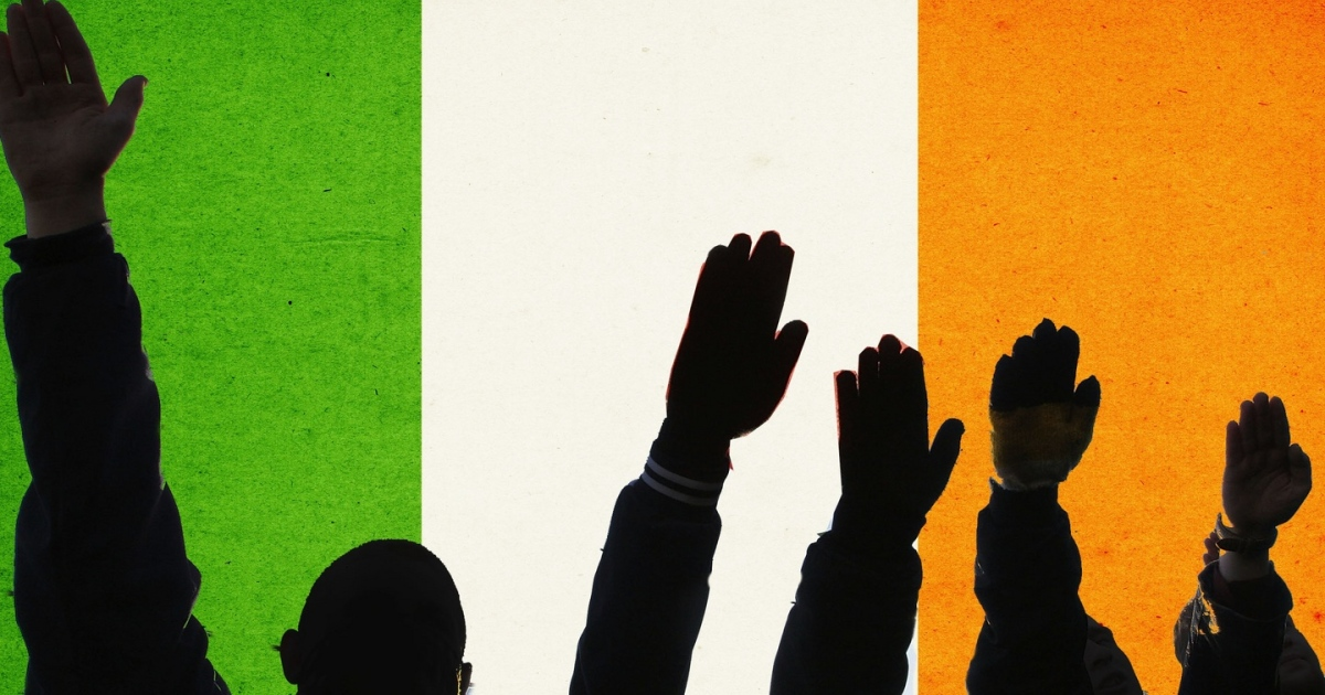 Analysts have said conditions are 'good' in Ireland for the far-right to grow in popularity. Illustration: Paul Scott