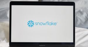 Snowflake  is a cloud-computing company. Photograph: Gabby Jones/Bloomberg