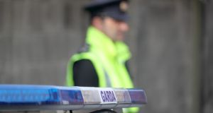 Gardaí are scaling up their presence in Dublin as it moves to Level 3. File photograph: Colin Keegan/Collins
