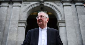 Archbishop of Dublin Diarmuid Martin has voiced concern that some are underestimating the current public health situation in Dublin.  File photograph: Bryan O'Brien/The Irish Times