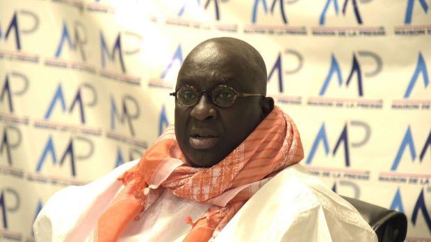 Papa Massata Diack, son of Lamine Diack. File photograph: Seyllou/AFP via Getty Images