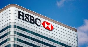 HSBC shares fell as much as 3.6 per cent to their lowest since the Asian currency crisis of 1998.