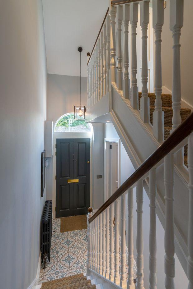 The hall at 3 Dargle Road, Drumcondra