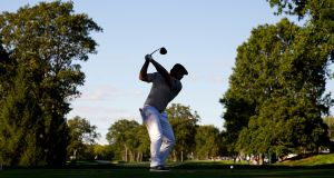 Big-hitting Bryson DeChambeau believes he can hit the ball further. Photograph: Charles Krupa/NYT