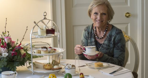 Mary Berry photographed in the Merrion Hotel, Dublin. Photograph: Brenda Fitzsimons