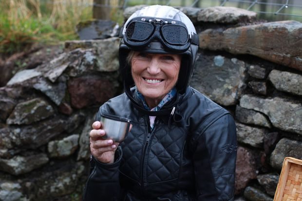 Mary Berry on the Old Butter Road in Cork. Photograph: BBC/Endemol Shine UK/Alice Binks