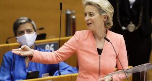 European Commission president Ursula von der Leyen: urged to ensure the commission implements an EU testing protocol to avoid quarantines and reopen borders.