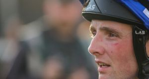 Jockey Chris Hayes enjoyed success at Listowel on the Fozzie Stack-trained Lady Wannabe. Photograph: Oisín Keniry/Inpho