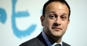 100 days to Brexit: Tánaiste Leo Varadkar is urging businesses to brace for the changes it will bring. Photograph: Cyril Byrne