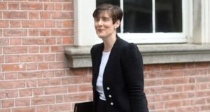 Minister for Education Norma Foley said there was a legal requirement that the students had access to the information.  Photograph: Dara MacDónaill/The Irish Times