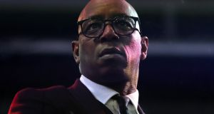 Former Arsenal and England player Ian Wright . Photograph: Nick Potts/PA Wire