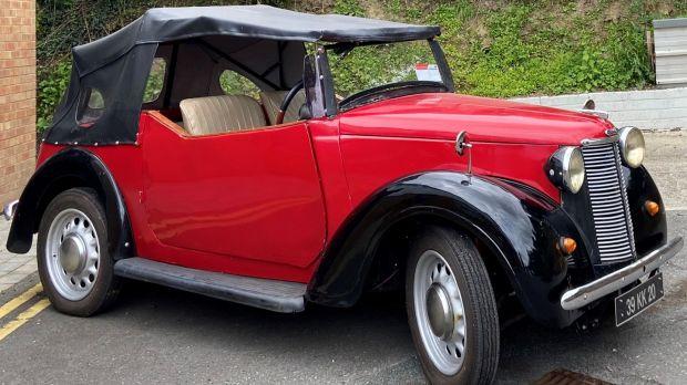 Lot 520, 1939 Austin 8 convertible €2.500-€3,200