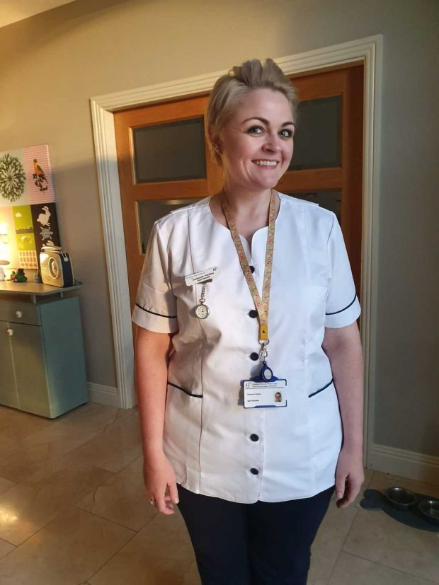 Deborah Hadley is now a midwife having previously worked in corporate finance.