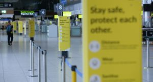 "The implementation of a testing system at Irish airports ""has been difficult because we've been getting different advices"". Photograph: Alan Betson"