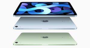 New iPad Air: new colours, new features