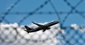 Groups representing Irish and EU aviation and tourism – including Ryanair and Aer Lingus – have called for the European Commission president Ursula von der Leyen to introduce an EU-wide testing protocol to avoid quarantines and reopen borders. Photograph: Tobias Schwarz / AFP