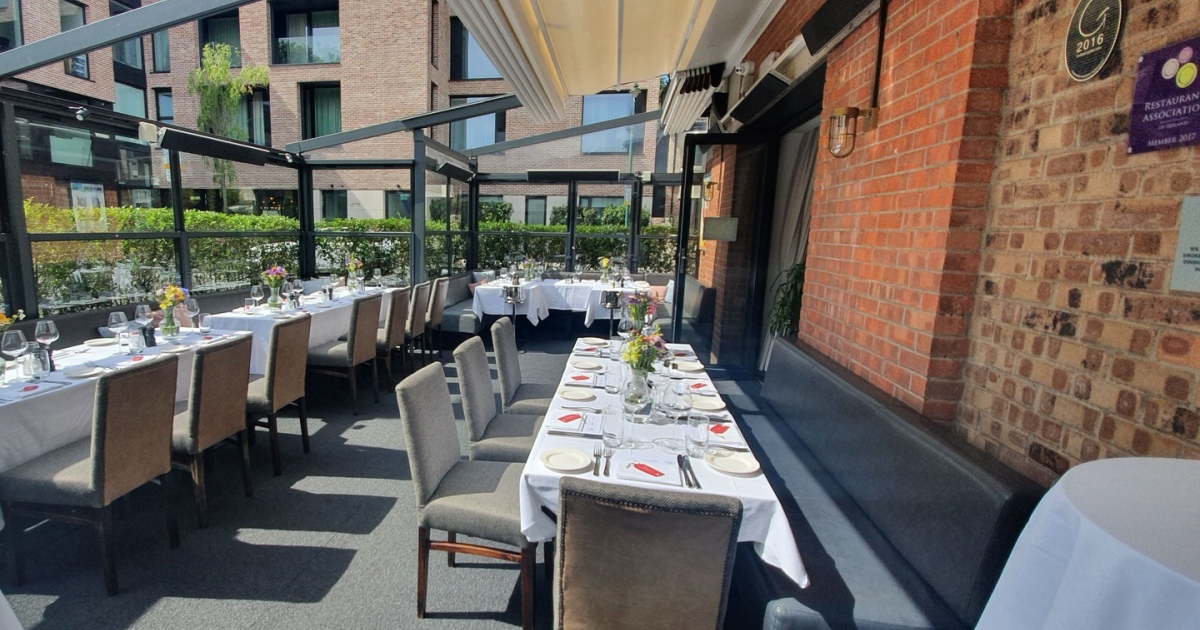 Dining Out 12 Of Dublin S Best Restaurants With Outdoor Spaces