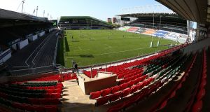 A general view of Welford Road during the Gallagher Premiership Rugby match between Leicester Tigers and Northampton Saints  on September 13th. Photograph: Pete Norton/Getty Images