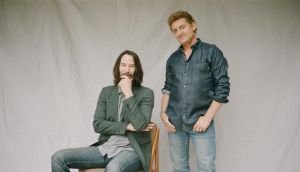 Keanu Reeves and Alex Winter. Photograph: Magdalena Wosinska/The New York Times