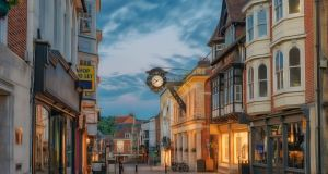 The UK high street has been one of the worst-hit sectors of the economy there, with the situation mirrored in the Republic. Photograph: iStock