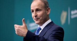 'This year's United Nations General Assembly is meeting in the shadow of Covid-19,' Taoiseach Micheál Martin said.  File photograph: Tom Honan/PA Wire