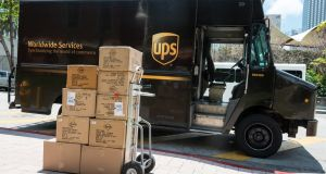 In addition to providing delivery services, UPS offers supply-chain solutions, freight forwarding, customs brokerage, fulfilment and financial transactions. The Irish entity was established in 1986. Photograph: iStock