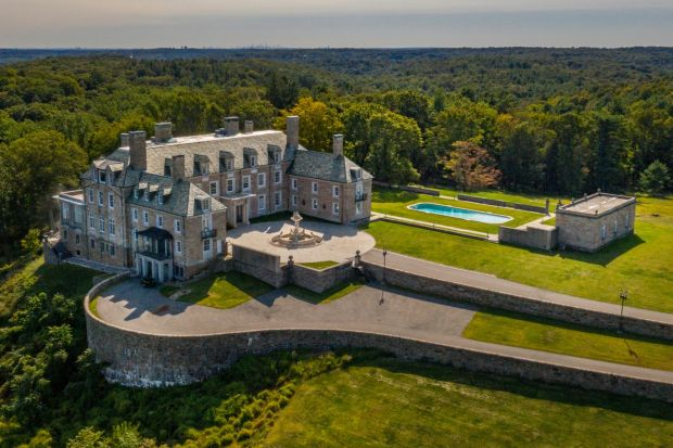 The Seven Springs estate in Bedford, New York, which Eric Trump has called it a 'home base'. Photograph: Tony Cenicola/The New York Times.