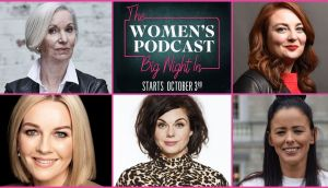 Clockwise,  from top left: Marie Cassidy, Samantha Barry, Eileen Flynn, Caitlin Moran and Claire Byrne are guests on the second season of The Big Night In
