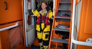Denise Lynch (37) has become the first female lifeboat coxswain in Ireland. Lynch is a member of Fenit RNLI, and has been a volunteer with the RNLI since 2001. She has served on both their inshore and all-weather lifeboats