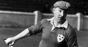 Corh hurling legend  Christy Ring in action. Photograph:  Connolly Collection/Sportsfile