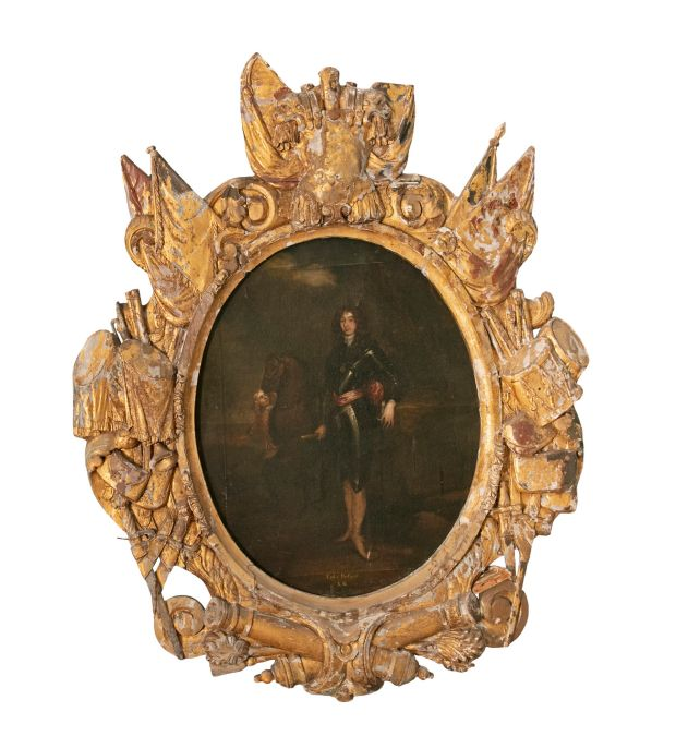 Important pair of portraits of William III and The Duke of Portland from the Pecks of Prehen House, Derry, €40,000- €60,000