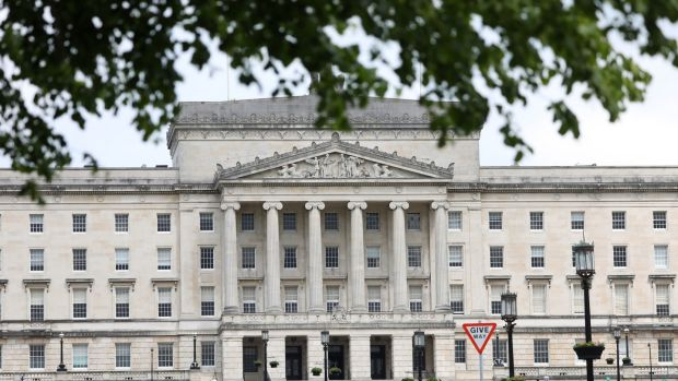 Parliament Buildings in Stormont. Photograph: Peter Morrison/PA Wire