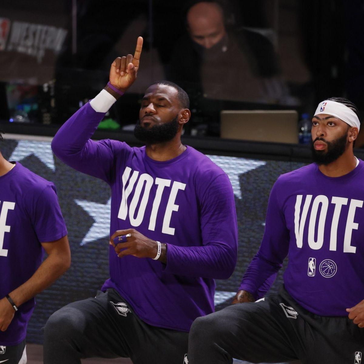 La Lakers Make Light Work Of Miami Heat In Nba Finals Opener