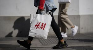 H&M said it plans to close hundreds of stores worldwide next year as the coronavirus crisis drives more shoppers online. Photograph: Paul Hanna/Bloomberg