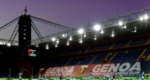 Genoa's home game against Torino has been called off. Photograph: Paolo Rattini/Getty Images