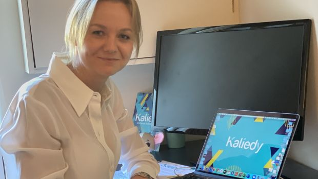Laura Ward helped found Kaliedy.com after her family's business Mothercare closed due to the pandemic