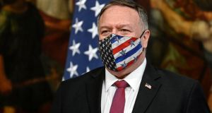 US secretary of state Mike Pompeo: Baghdad is concerned the US may launch military strikes to re-energise president Donald Trump's faltering bid for re-election. Photograph: Riccardo Antimiani