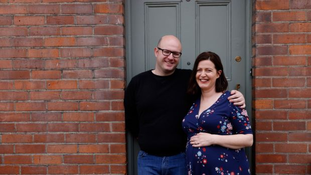 Róisín Matthews and her husband Rob Mullen-Reynolds at their home in Drogheda. Photograph: Alan Betson/The Irish Times.