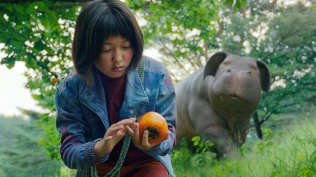 An Seo Hyun in Okja, 2017. Photograph: Netflix