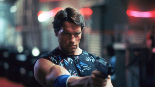 Arnold Schwarzenegger in The Terminator. Photograph: MGM